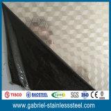 Metal inoxidável gravado 4X8 da chapa de aço de AISI 430 para os painéis de parede