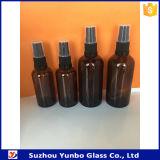 18mm cosmética fina niebla pulverizador para botellas ámbar azul cuentagotas