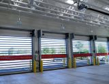 Puertas de plegamiento espirales de alta velocidad de las puertas (Hz-RSD029)