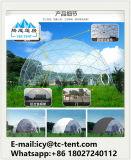 Водоустойчивый шатер половинной сферы с ясной крышкой крыши для выставки для гостиницы