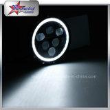 Feixe elevado direto da fábrica baixo diodo emissor de luz de 7 polegadas para faróis do jipe