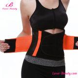 Eindeutiger orange Flausch-Schliessen-körperliche Therapie-Taillen-Riemen-Taillen-Trimmer-Riemen