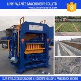Máquina de fatura de tijolo do edifício concreto de Qt4-15c, bloco que faz a máquina