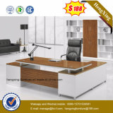 Moderne Büromöbel Massivholz-Furnier Executive Office Tabelle (HX-CK010)