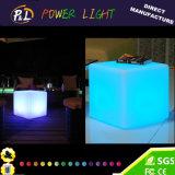 Garten-Solarlicht RGB-glühender LED beleuchteter Würfel