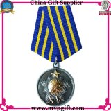 軍メダルギフトのためのカスタマイズされたスポーツメダル