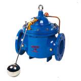 válvula de controle remoto da esfera de flutuação 100X