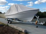 Liya 7.6m de aluminio de pesca T-Top barco de fibra de vidrio con Ce (SW760)