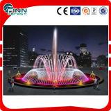 6mの直径屋外音楽LED Underlight水庭の噴水