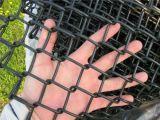 Frontière de sécurité décorative de ferme de frontière de sécurité de maillon de chaîne, modèle enduit de frontière de sécurité de maillon de chaîne, panneaux de frontière de sécurité de maillon de chaîne de bétail