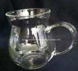 Copo da água do vidro de Borosilicate da fábrica de China
