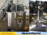 réservoir de mélange de l'acier inoxydable 500L avec des lames de dispersion