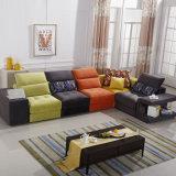 Sofà sezionale moderno per mobilia domestica (F1114-1)
