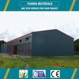 Estructura de acero del metal de los edificios del almacén del diseño de la construcción
