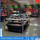 Luftkühlung-runde Form-Nachtvorhang-geöffneter Bildschirmanzeige-Verkaufsberater