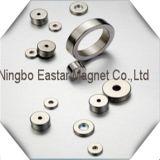 N35-N52ニッケルメッキのネオジムのリング磁石