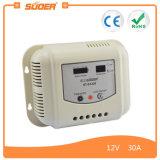 Suoer 12V 24V 30A intelligenter PWM Solarladung-Controller (ST-G1230)