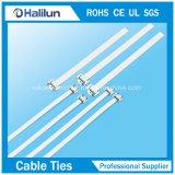Связь застежка-молнии связи кабеля нержавеющей стали ширины 10mm Releasable для индустрии судостроения