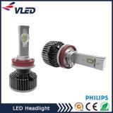 Farol do diodo emissor de luz H7, faróis do diodo emissor de luz do carro de H4 H7 com peças de automóvel da motocicleta da lente do projetor