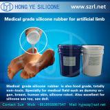 Borracha de silicone líquida para fazer prótese