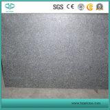 Pedra de pavimentação do granito preto do basalto G684, pavimentação do granito