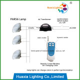 Fernsteuerungs18with24with35w LED PAR56 Pool-Lampe RGB-