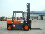 工場価格5tの機械装置のディーゼルフォークリフトの価格かガソリンフォークリフト(FD50)