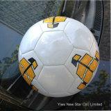 스포츠를 위한 PU 축구를 꿰매는 5#에 의하여 주문을 받아서 만들어지는 로고 기계