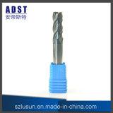 Taglierina del laminatoio di estremità dell'acciaio di tungsteno di alta qualità 55HRC 4flute