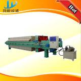 El PLC controla a prensa de filtro de desecación automática de membrana