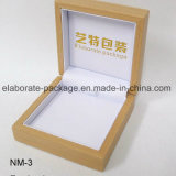 Rectángulo de empaquetado de madera de encargo de la visualización del regalo del reloj/de la joyería