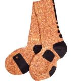 Helle orange Basketball-Auslese-rutschfeste Non-Slippery Socke