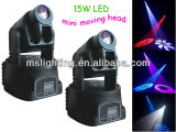Indicatore luminoso capo mobile chiaro della lavata della fase 15W LED con la radio