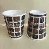 単一の壁によって印刷されるコーヒー紙コップ