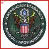 Armee-Stickerei-Änderung- am Objektprogrammabzeichen gestickte Änderung am Objektprogramm (YH-EB047)