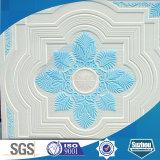 Azulejo colorido reforzado fibra de vidrio del techo del yeso de Grg