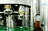 유리병 맥주 세탁기 충전물 캐퍼 생산 공장