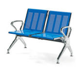 Cadeira de espera pública do banco do aeroporto do hospital do banco do aço inoxidável (HX-PA618)