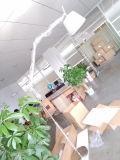 Iluminação ereta da luz da lâmpada de assoalho do balanço branco moderno da dobradura do escritório para a sala de visitas