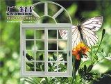 Het Venster van het Glas van het Frame van het Aluminium van de kromme