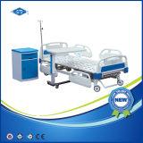 Таблица больничной койки 3 функций ручная с ящиком (BS-838A)