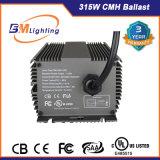 Reattanza elettronica NASCOSTA reattanza idroponica di illuminazione 315W Dimmable con l'UL approvata
