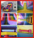 多彩な膨脹可能遊園地のためのスライドのゲームを乾燥する