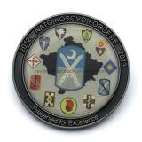 Moneda de encargo del recuerdo de la impresión para la fuerza de la OTAN Kosovo