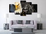 HD ha stampato la tela di canapa Mc-007 della maschera del manifesto della stampa della decorazione della stanza di stampa della tela di canapa di pittura del motociclo del Eagles