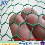 Изготовление дешевой сетки PVC Anping Coated шестиугольной
