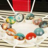 конфета Lollipop романтичной звёздной формы 3D трудная