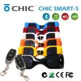 """""""trotinette"""" de equilíbrio do auto de 2 rodas com o veículo elétrico das Luz-Mãos do diodo emissor de luz livre, portátil a pilhas"""