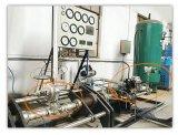 """pressão líquida do vapor do gás 2 """" Sp9000 que reduz-se abaixo da válvula de controle"""