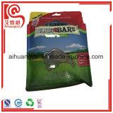 Bolso plástico del acondicionamiento de los alimentos de animal doméstico de los materiales de Compisite